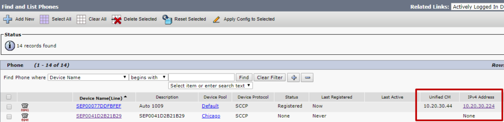 Troubleshooting Remote Phone Control – Variphy Cisco CDR