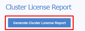 How To Generate the Variphy Cluster License Report (CLR