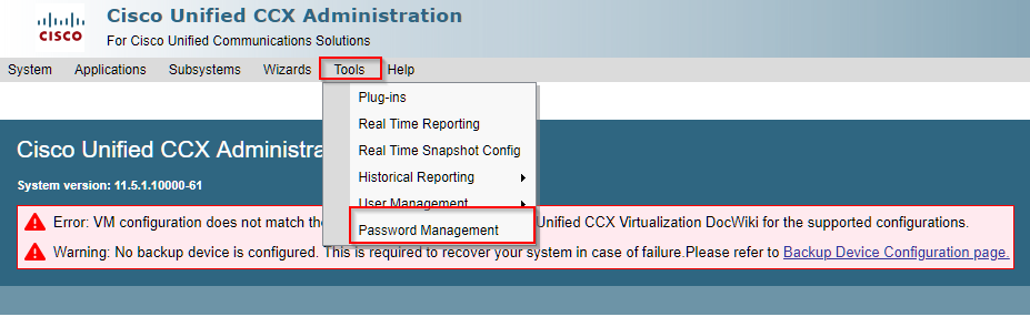UCCX Cluster Configuration – Variphy Cisco CDR Reporting