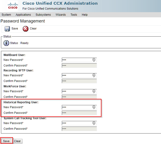 UCCX Cluster Configuration - Variphy Cisco CDR Reporting & Call